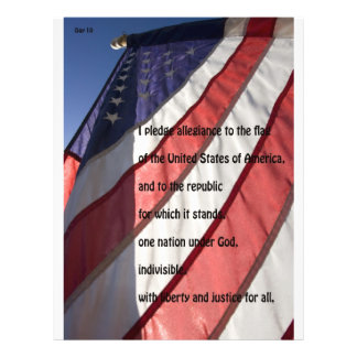 Pledge of Allegiance/ Elect Day Williams Flyer Design