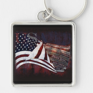 Pledge of Allegiance gifts & Greetings Keychain