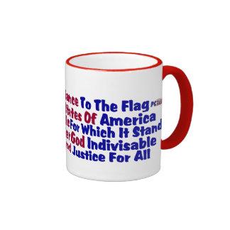 Pledge Of Allegiance Coffee Mugs