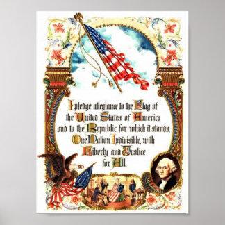 Pledge of Allegiance - Original Poster