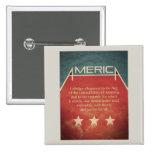 Pledge of Allegiance Pinback Buttons