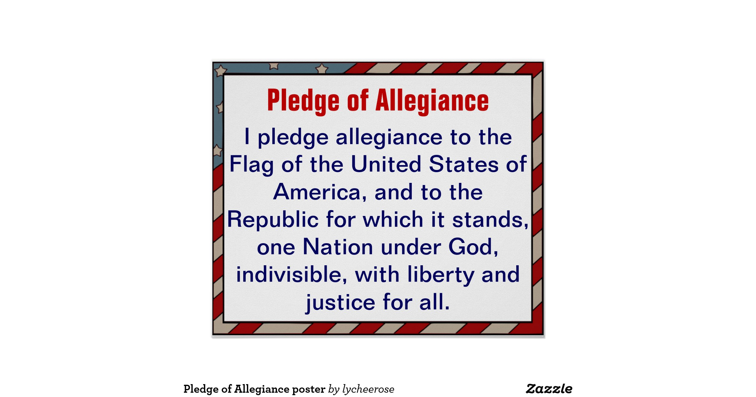 argumentative essay on the pledge of allegiance Critical response essay the first major essay in engl 1302 engl 1302 why the pledge of allegiance should be revised by gwen wilde, current issues.