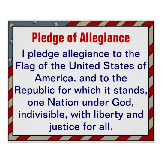 argumentative essay on the pledge of allegiance I pledge allegiance to the flag of the united states of america, and to the republic for which it stands, one nation, under god, indivisible, with liberty and justice for allevery day in first .