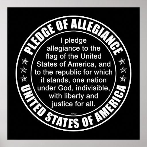 Pledge of Allegiance Print