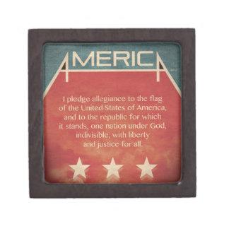 Pledge of Allegiance Premium Gift Boxes