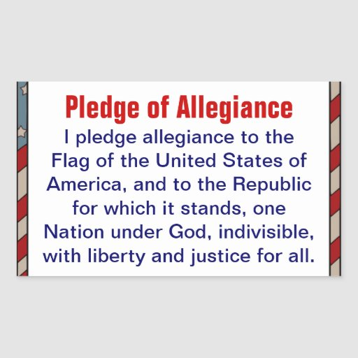 pledge of allegiance research paper