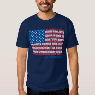Pledge of Allegiance Tee Shirt