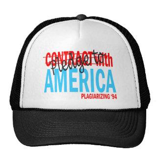 Pledge to America Cap Trucker Hat
