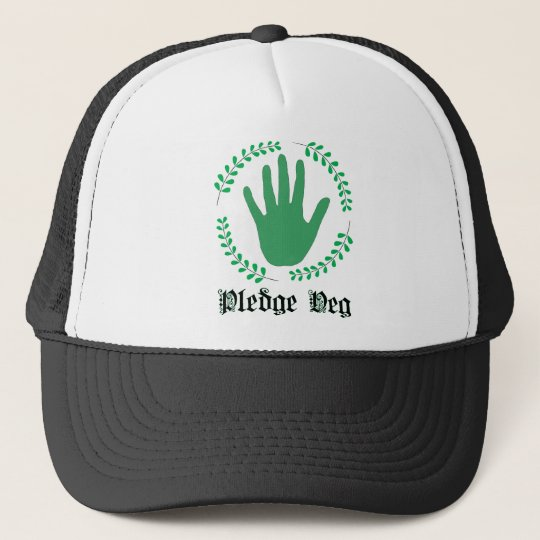 Pledge Veg Trucker Hat