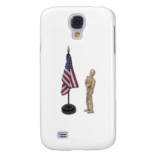 PledgeToAmericanFlag121211 Galaxy S4 Case
