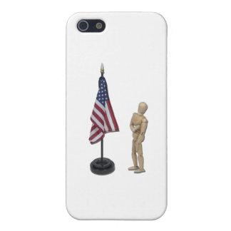 PledgeToAmericanFlag121211 iPhone 5 Case