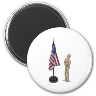 PledgeToAmericanFlag121211 Magnets