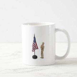 PledgeToAmericanFlag121211 Coffee Mugs