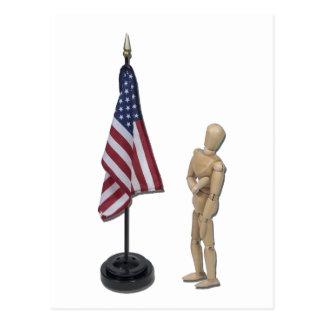 PledgeToAmericanFlag121211 Post Cards