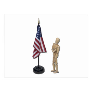 PledgeToAmericanFlag121211 Tarjetas Postales