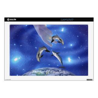 "Pleiades Art of Creation 17"" Laptop Decal"