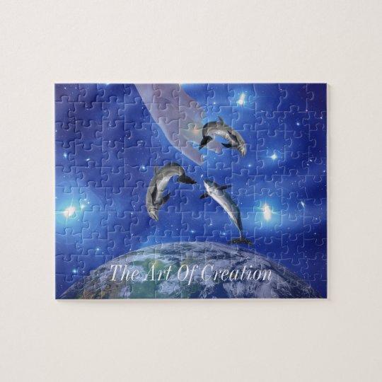 Pleiades Art of Creation Jigsaw Puzzle