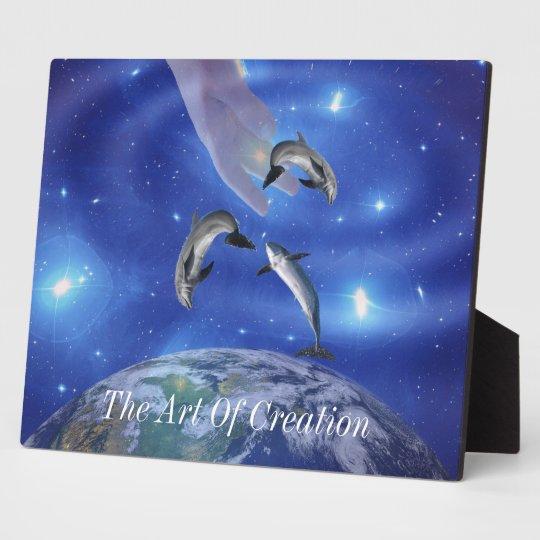 Pleiades Art of Creation Plaque