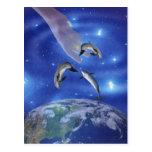 Pleiades Art of Creation Postcard