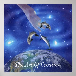 Pleiades Art of Creation Poster