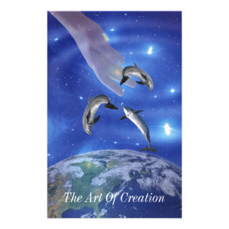 Pleiades Art of Creation Stationery