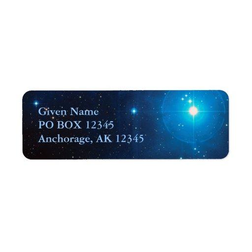 Pleiades Avery Label Custom Return Address Label