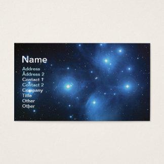 Pleiades Business Card