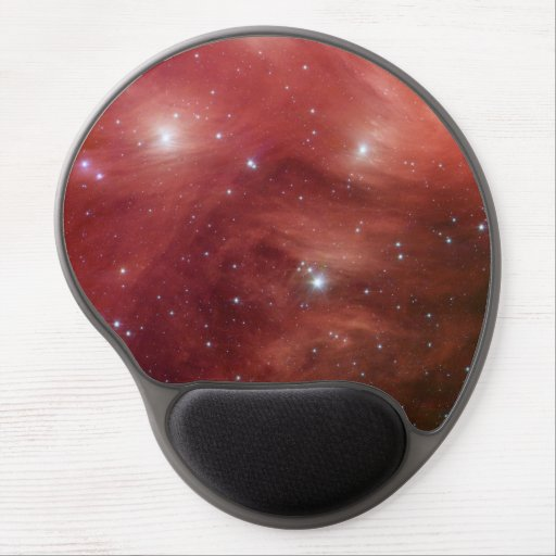 Pleiades in Red Gel Mouse Mat