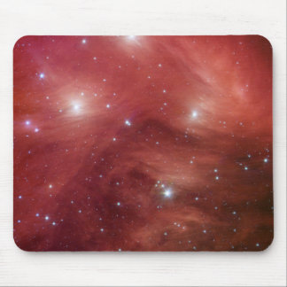 Pleiades in Red Mouse Pad
