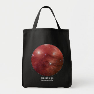 Pleiades in Red Tote Bag