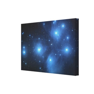 Pleiades or The Seven Sisters M45 Canvas Print