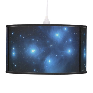 Pleiades or The Seven Sisters M45 Hanging Lamp