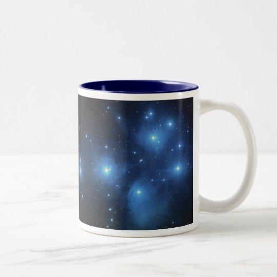 Pleiades or The Seven Sisters M45 Two-Tone Coffee Mug