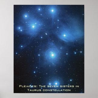 "Pleiades Poster Portrait 16"" x 20"""