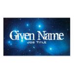 Pleiades Profile Card Business Card Template