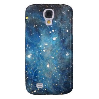 Pleiades Space Art Constellation Painting Print Samsung S4 Case