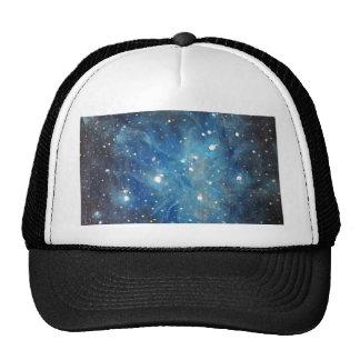 Pleiades Space Art Constellation Painting Print Trucker Hat