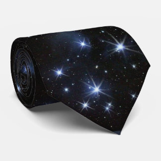 Pleiades star cluster neck tie