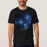 Pleiades Star Cluster Tshirt