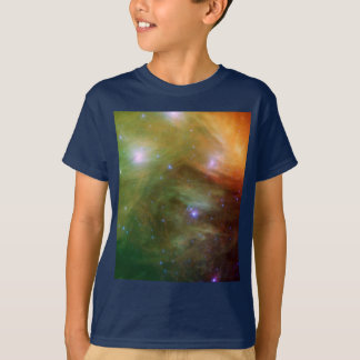 Pleiades stars in infrared light T-Shirt