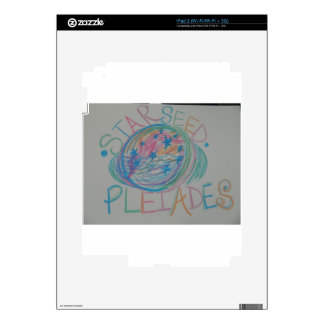 Pleiadian Starseed Light Language Decals For The iPad 2