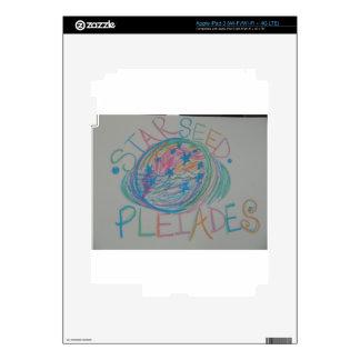 Pleiadian Starseed Light Language iPad 3 Decals
