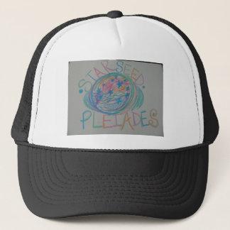 Pleiadian Starseed Light Language Trucker Hat