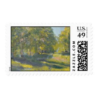 Plein Air Ludington Stamps