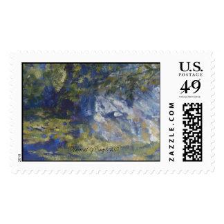 Plein Air Michigan Postage Stamp