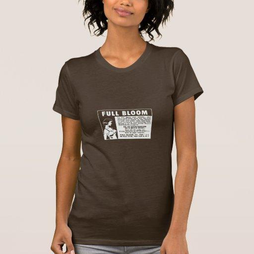 Plena floración - vitaminas de aumento del pecho camisetas