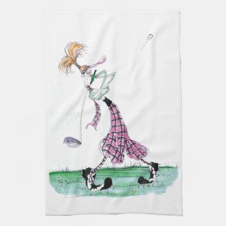 Pleno auge del golf, fernandes tony toallas de mano