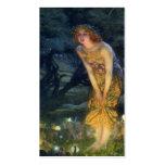 Pleno verano Eve con un anillo de hadas 1908 Tarjeta De Negocio