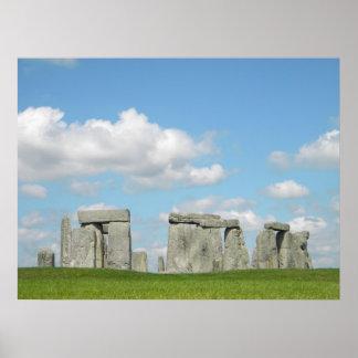 Pleno verano Stonehenge Posters