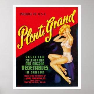Plenti Grand Poster